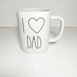 Rae Dunn I heart Dad Mug NEW